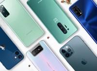 Ez a top 10, így áll most az okostelefon-gyártók népszerűségi sorrendje