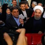 Iráni elnökválasztás - az atomalku híve győzött