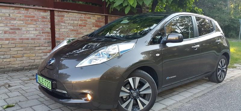 Nissan Leaf-teszt: feszültségkeltő