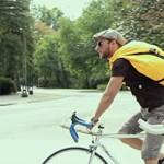 A hongkongi biciklisek is magyar táskával kerekeznek