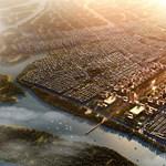 És akkor felhúznak egy új, 200 négyzetkilométeres várost Indiában