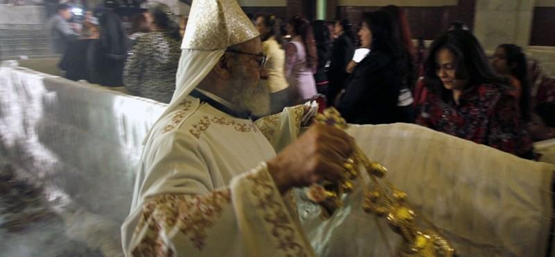Budapestre jön a kopt ortodox egyház feje