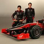 A Virgin is bemutatta idei Forma-1-es autóját - fotó