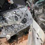 130-cal ment a magyar autós a lezárt autópályán, amíg egy hídnak nem hajtott