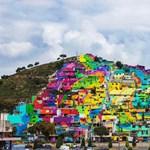 Lenyűgöző fotók: Így néz ki, amikor a kormány együttműködik a graffitisekkel