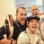 Meglepő és megható videót posztolt elsőként az újdonsült F1-világbajnok