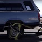 """Félelmetes: menet közben dob """"kerékbilincset"""" a kocsira ez az új találmány – videó"""