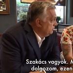 Orbán londoni magyar szakáccsal beszélgetett, akinek a szülei rajonganak érte