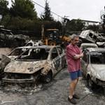 Már 74 halottja van a görögországi erdőtüzeknek