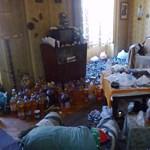 Sokkoló látvány fogadta a tűzoltókat egy kaposvári lakásban - fotó