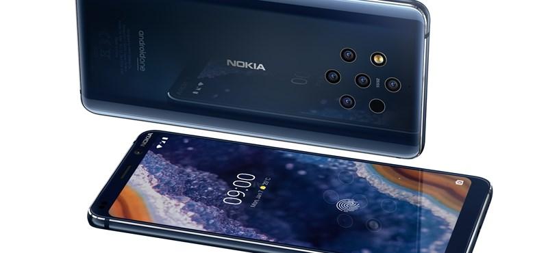 5 kamerát kapott a Nokia új csúcsmobilja, itt a Nokia 9 PureView