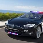 Tesla Model S, mint rendőrautó?