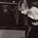 Mesés áron kelt el Diana hercegnő fekete estélyiruhája