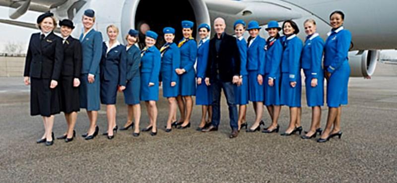Mart Visser tervezi a KLM új női egyenruháját