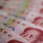 A világ ötödik legfontosabb valutája lesz a kínai jüan