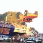 Látni kell: orsót repült terepjáróval egy amerikai autóversenyző - videó