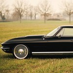 Skizofrén Corvette sportkocsi: kívül a 60-as évek, belül a jelen kor