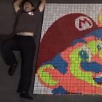 Látványosabb az igazi játéknál is: 900 Rubik-kockából csináltak Super Mario videót
