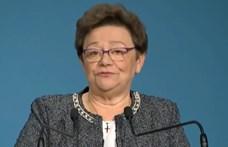 Müller Cecília: Túl sokan vannak kórházban az igazolt koronás fertőzöttek számához képest