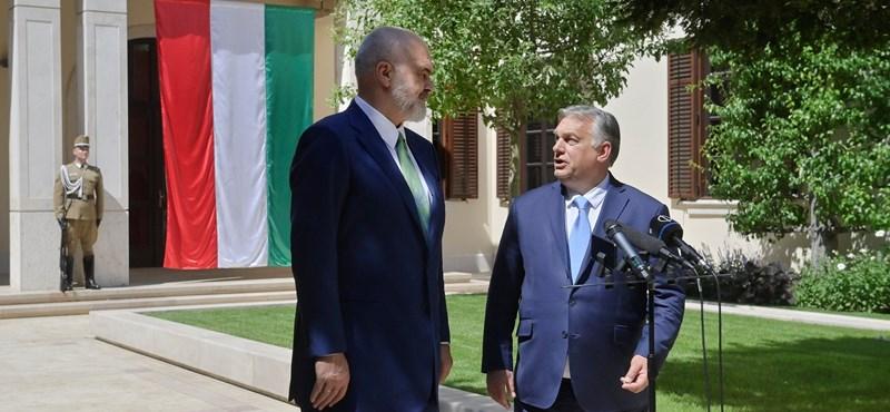 Orbán: Támogatjuk Albánia uniós tagságát