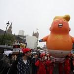 Múzeumba kerül a Donald Trumpon gúnyolódó lufi
