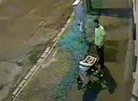 Gyerekét akarta lopásra rávenni egy férfi Győrben
