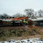 150 ezer liter folyékony csoki árasztotta el az utat Arizonában