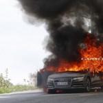 Jól indul: porig égett az egyik Audi A7-es prototípusa