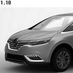 Tíz év után itt az új Renault Espace