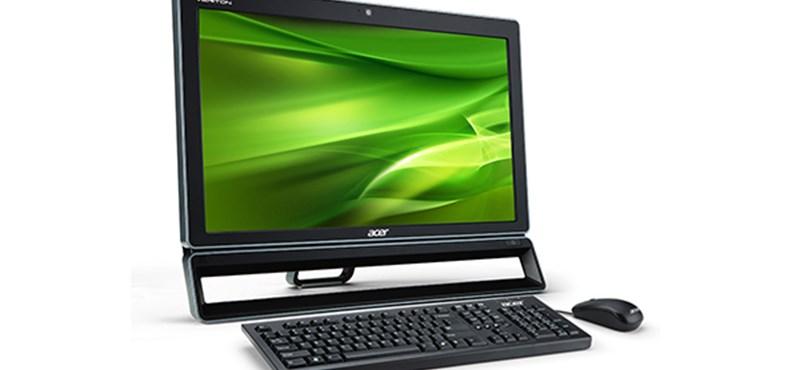 Újabb all-in-one PC az Acertől, üzleti felhasználásra