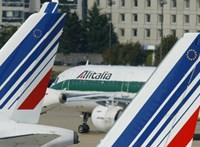 Közel háromszáz Alitalia-járatot töröltek sztrájk miatt
