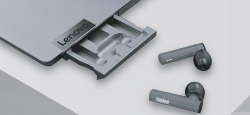 A Lenovo kitalálta, hogy nem fogjuk elhagyni a vezeték nélküli fülhallgatót