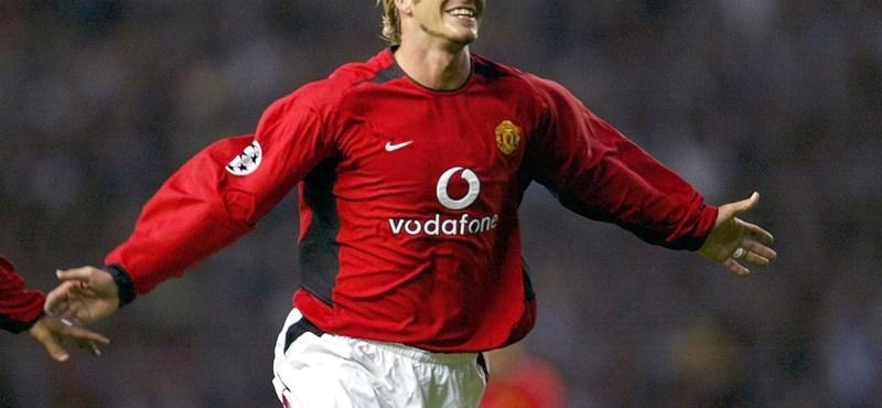 Beckham: csak Manchesterben tudom magam elképzelni Angliában