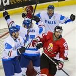 Divízió I-es jégkorong-vb: kikaptak a magyarok az olaszoktól