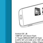 Érdekes képek a Galaxy Note III-ról