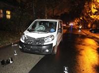 Fotók jöttek a kispesti balesetről, egy nőt gázoltak halálra