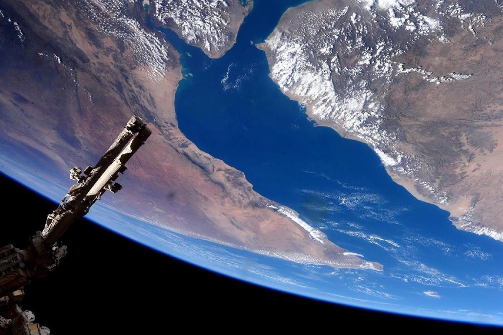 mti.15.02.10. Március 10-én közreadott, január 30-án készített kép az Ádeni-öbölről és Afrika szarváról - 7képei, 8képei, világűr, űrállomás, NASA