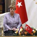 Erdogan kikérte magának Merkel szavait közös sajtótájékoztatójukon