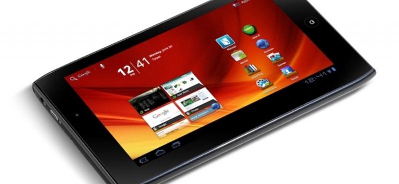 Itthon is kapható az Acer Iconia TAB A100!