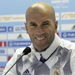 Lemondott Zidane, a Real Madrid edzője