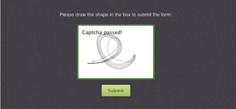 Talán ez kedveltebb lesz: itt a MotionCAPTCHA [videóval]