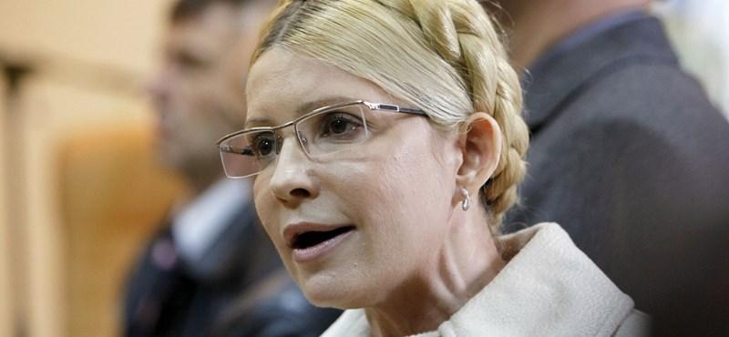 A hét év börtönre ítélt Timosenko a jövő héten fellebbez