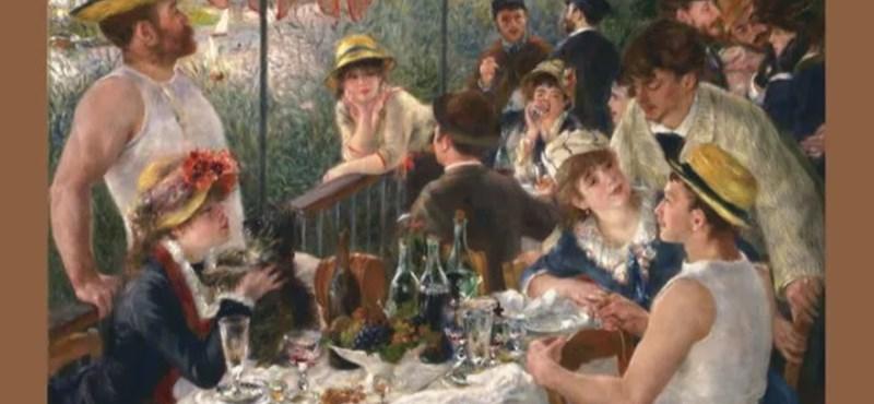 """""""Ebéd az esküvői partin"""" vagy """"Az evezősök reggelije""""?"""