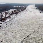Nem várható árvíz a nagyobb folyókon