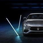 Magyarországon az első hibrid Maserati