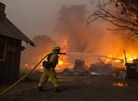 Kanye Westék magántűzoltókkal oltatták el a tüzet a malibuli házuknál