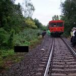 Pórázt próbált kipiszkálni a sínek közül a 91 éves néni, amikor halálra gázolták (fotókkal)