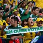 Brazília - Mexikó: micsoda 0-0!