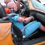 Több százezer Fordot hívnak vissza a veszélyes biztonsági öv miatt