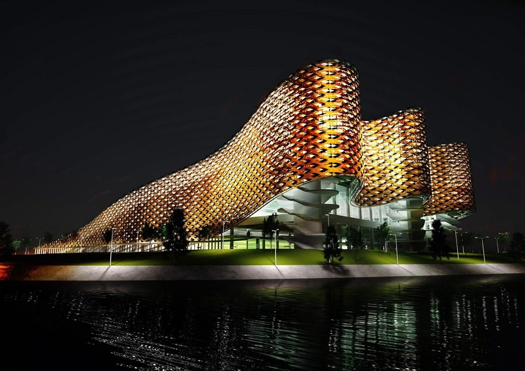 Vizes vb helyszín - Egy év múlva leteszik a budapesti úszókomplexum alapkövét